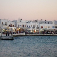 Downtown Mykonos