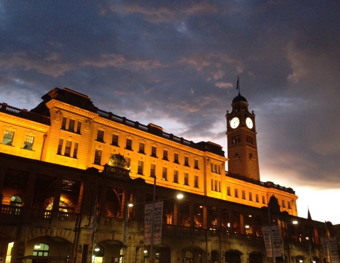 Sunset, Central Station